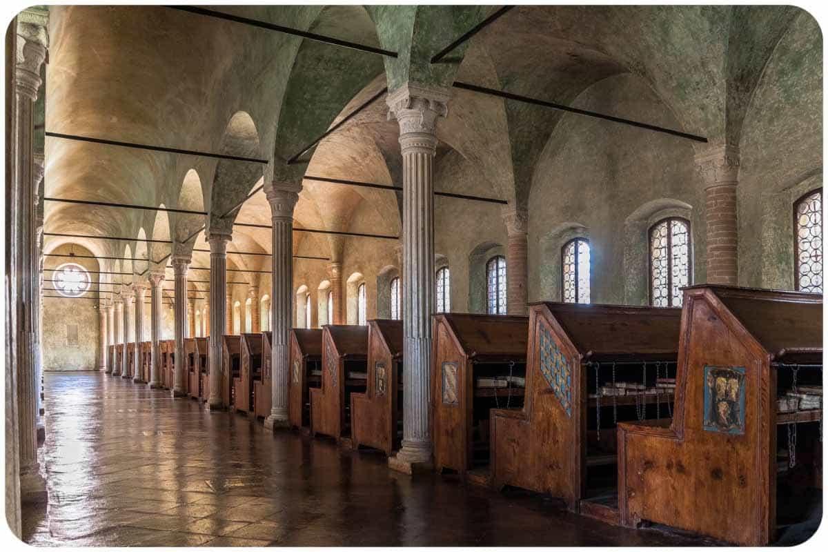 Cesena (FC), Biblioteca Malatestiana-Cesena (FC), Biblioteca Malatestiana, ph. ragazzini simone, WLM2016-CC BY-SA 4.0