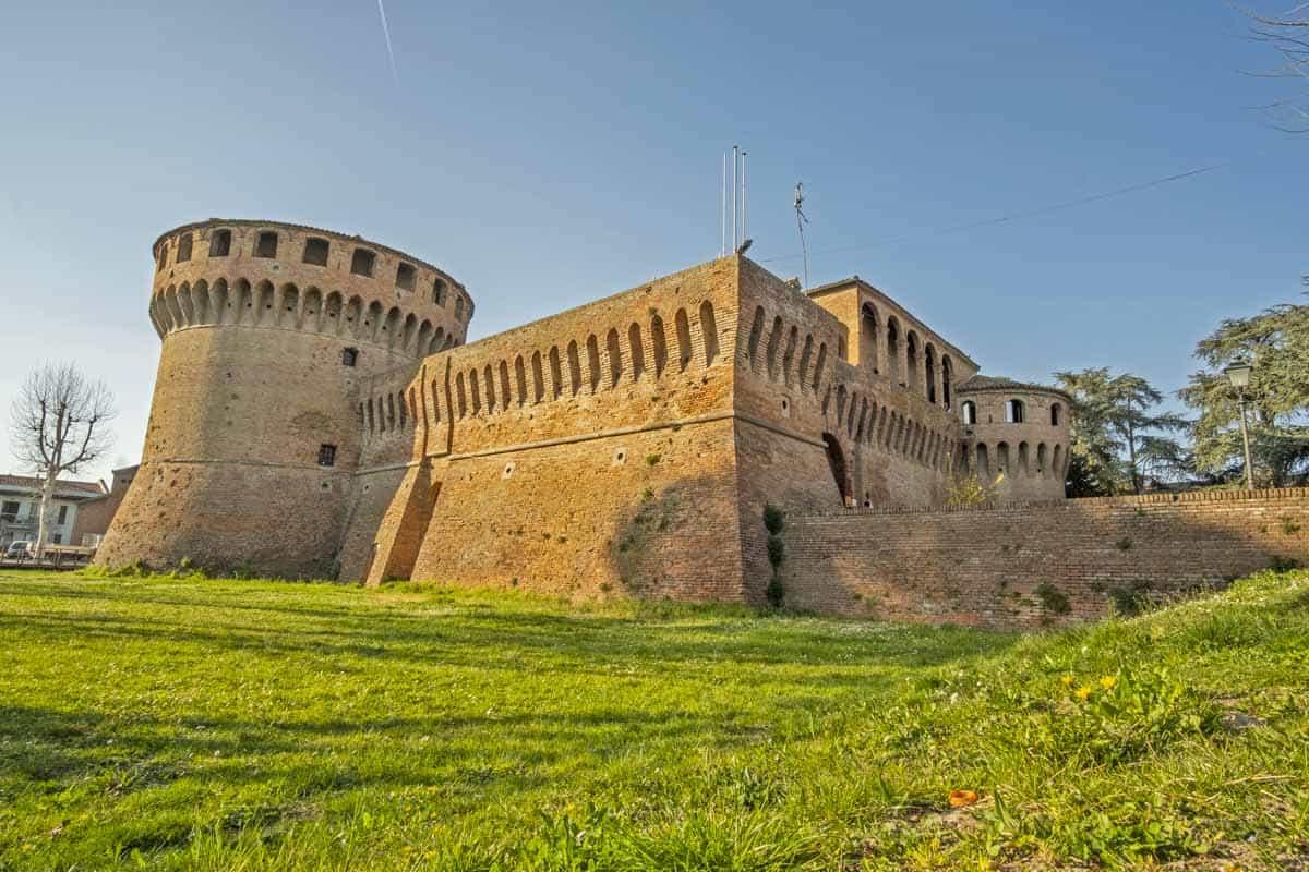 Bagnara di Romagna (RA), Rocca Sforzesca-Bagnara di Romagna (RA), Rocca Sforzesca, Archivio fotografico Unione Comuni Bassa Romagna-CC BY-SA 3.0
